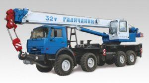 автокран 32 т