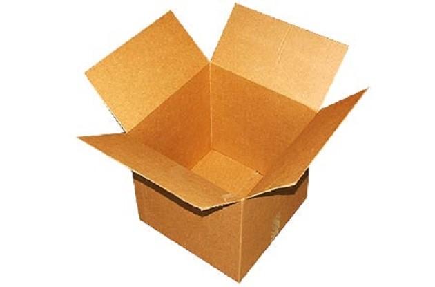 Короб картонный для перевозки книг, посуды